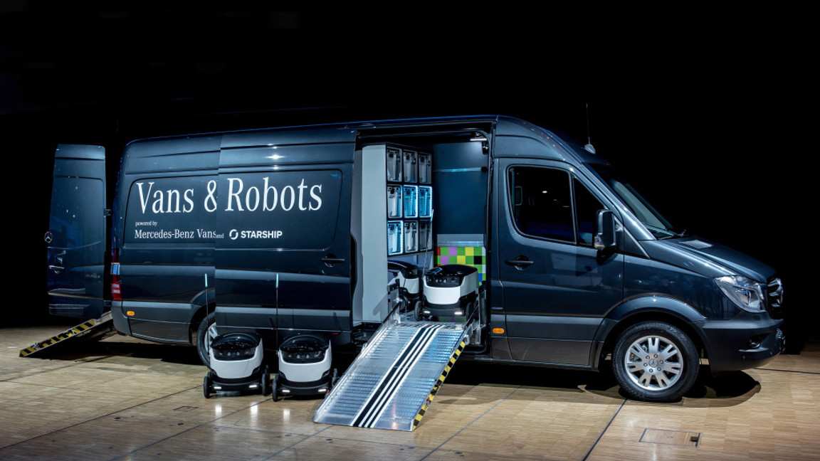 Vans & Robots
