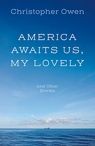 FRONT BOOK COVER FOR AMERICA AWAITS US.