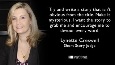 Bestselling Author Lynette Creswell Joins the Judging Panel