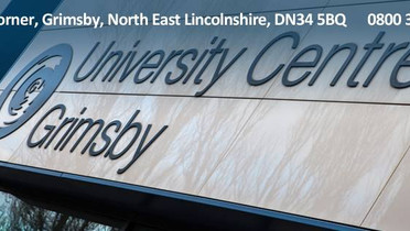 Our 2021 International Literary Prize is sponsored by the University Centre Grimsby