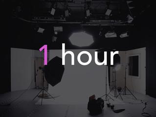 1 Hour to go!