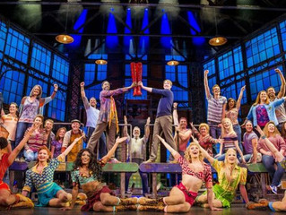 Kinky Boots walk the stage at Hull New Theatre