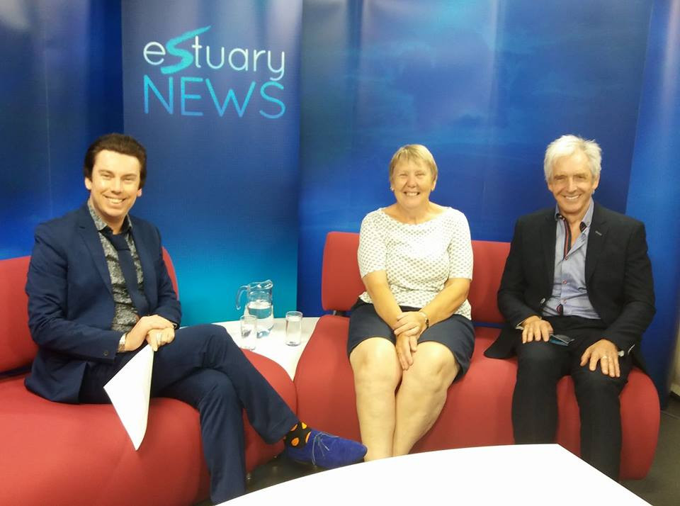 Ted Stanley joins Luke adams on Estuary TV ti talk about creative writing competitions and courses