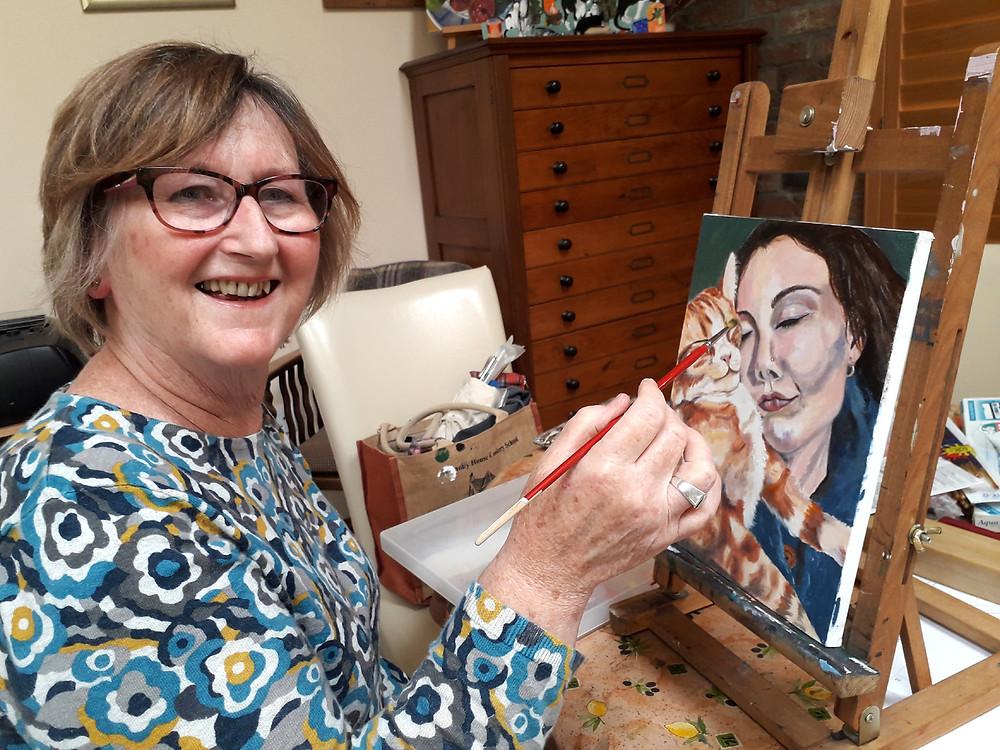 Sally Haylock at Holme Upon Spalding Moor