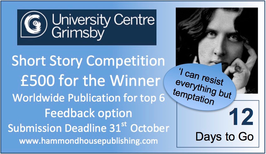 Can you resist the temptation of £500 and worldwide publication?  http://buff.ly/2e5vIwW #amwriting #oscarwilde #shortstorycompetition