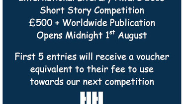 Entries open for the UCG International Literary Award at midnight tonight. 1st August 2016