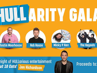 Comedians launch comedy gala at Hull