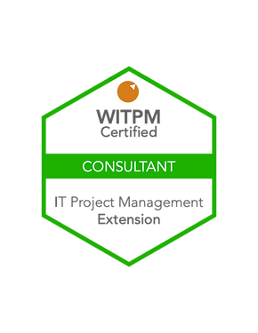 WITPM - Certified Consultant in IT Project Management badge