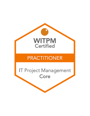 WITPM - Certified Practitioner in IT Project Management badge