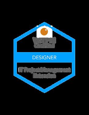 WITPM - Certified Designer in IT Project Management badge