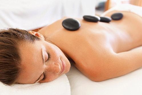 90min Hot Rock Massage | Masaje de Piedras Calientes
