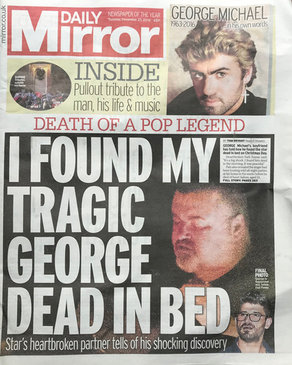 GEORGE MICHAEL - DAILY MIRROR
