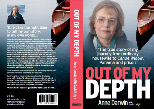 OUT OF MY DEPTH BOOK COVER