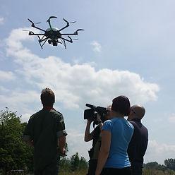 Luftaufnahmen für Unternehmen mit Flugdrohnen