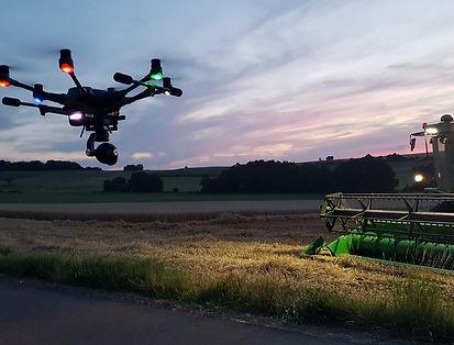 Flugdrohne PIXELFLOW Kamerateam buchen