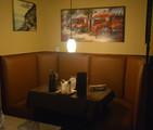 New corner booth