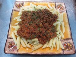 Penne w/Chef Robert's Bolognese Sauce