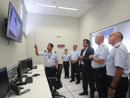 Presidente del Consejo de Ministros visitó la Agencia Espacial del Perú