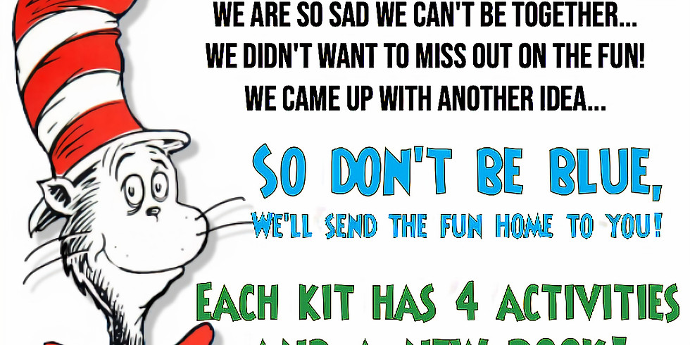Virtual Dr Seuss Event! May 23th at 11:00 am