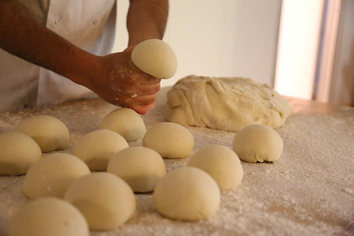 1 Case x 9inch Stone-Baked Pizza Bases + 24 x 250g Dough Balls