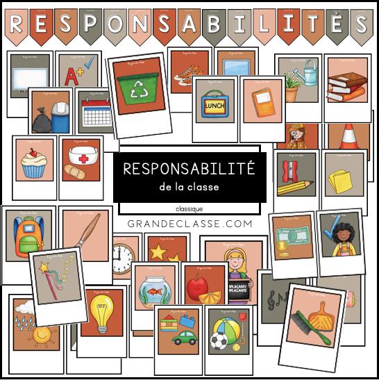 Responsabilités (thème classique)