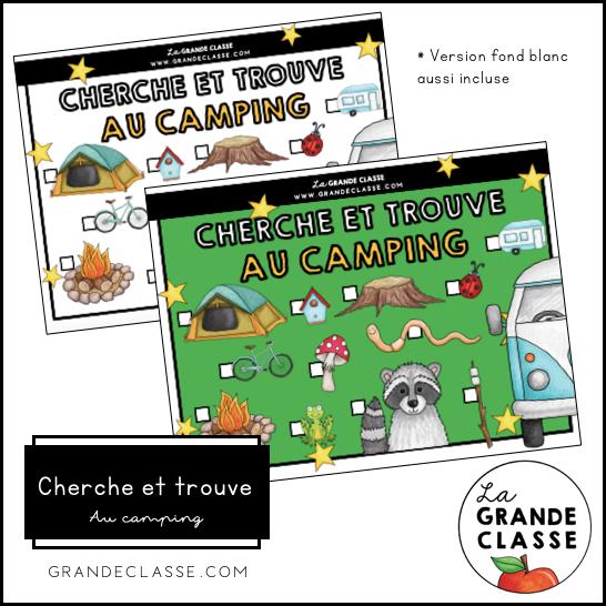 Cherche et trouve - Camping