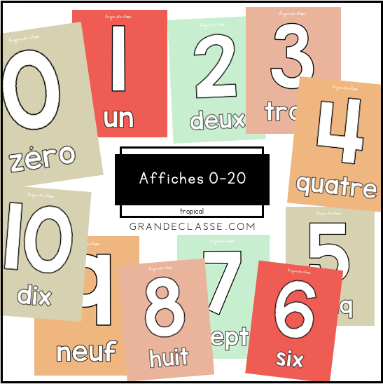 Affiches 0-20 (tropical)
