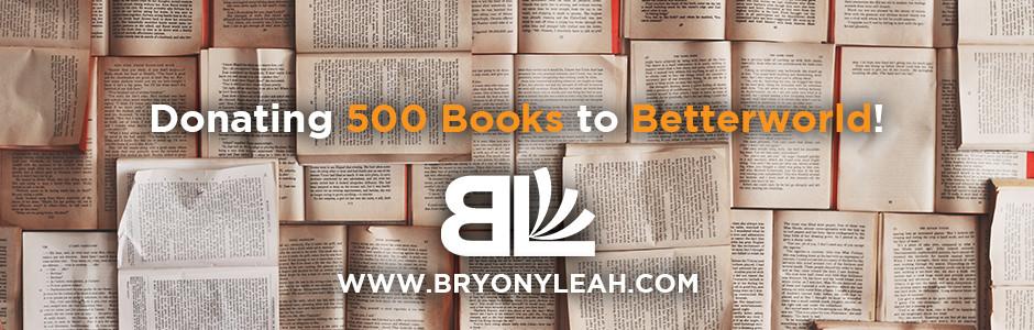 Betterworld, freelance book editor, affordable book editing services, book donation, affordable book editor, Bryony Leah