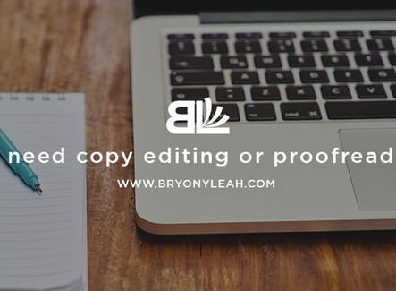 Do I need copy editing or proofreading?