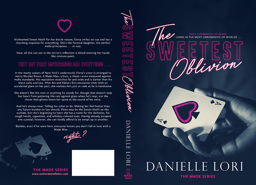 The Sweetest Oblivion, Danielle Lori, mafia romance, ebook editor, freelance book editor, affordable book editor, affordable book editing services