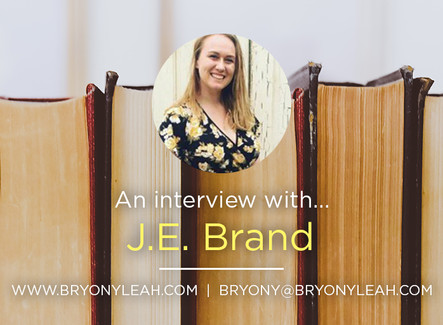 Author Interview: J.E. Brand