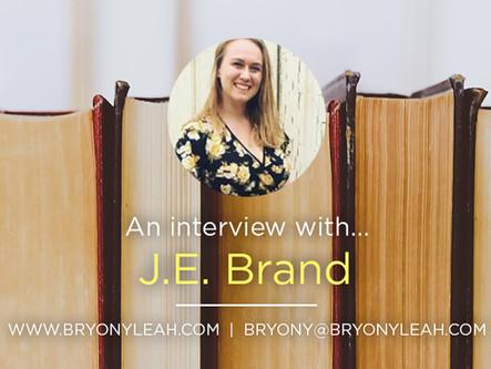 Author Interview: J.E. Brand