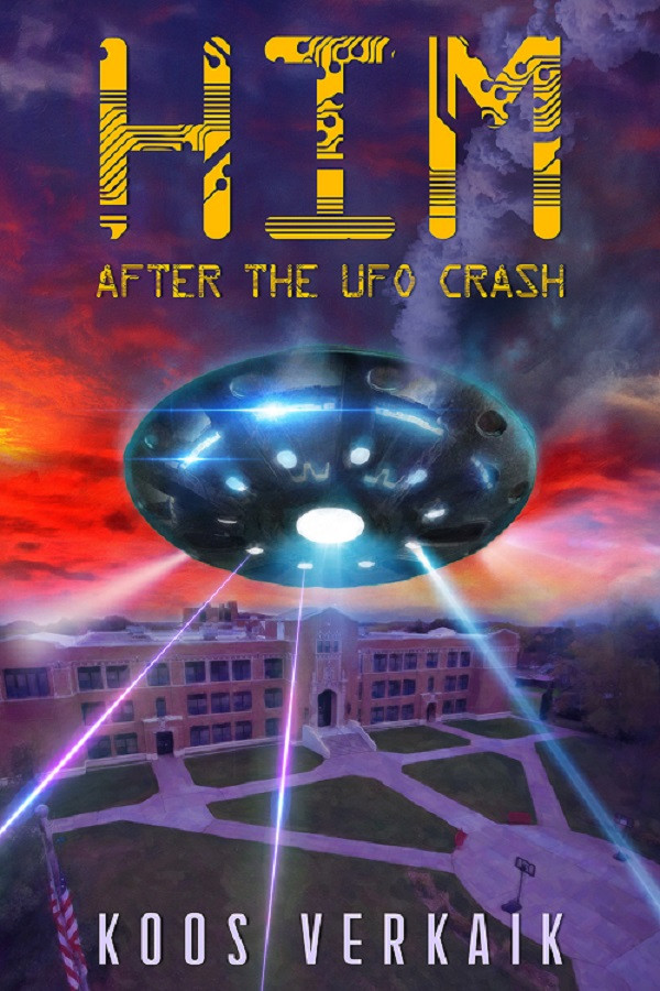 HIM After The UFO Crash, Koos Verkaik, author interview, freelance book editor, affordable book editor, wattpad editor, ebook editor, affordable book editing services