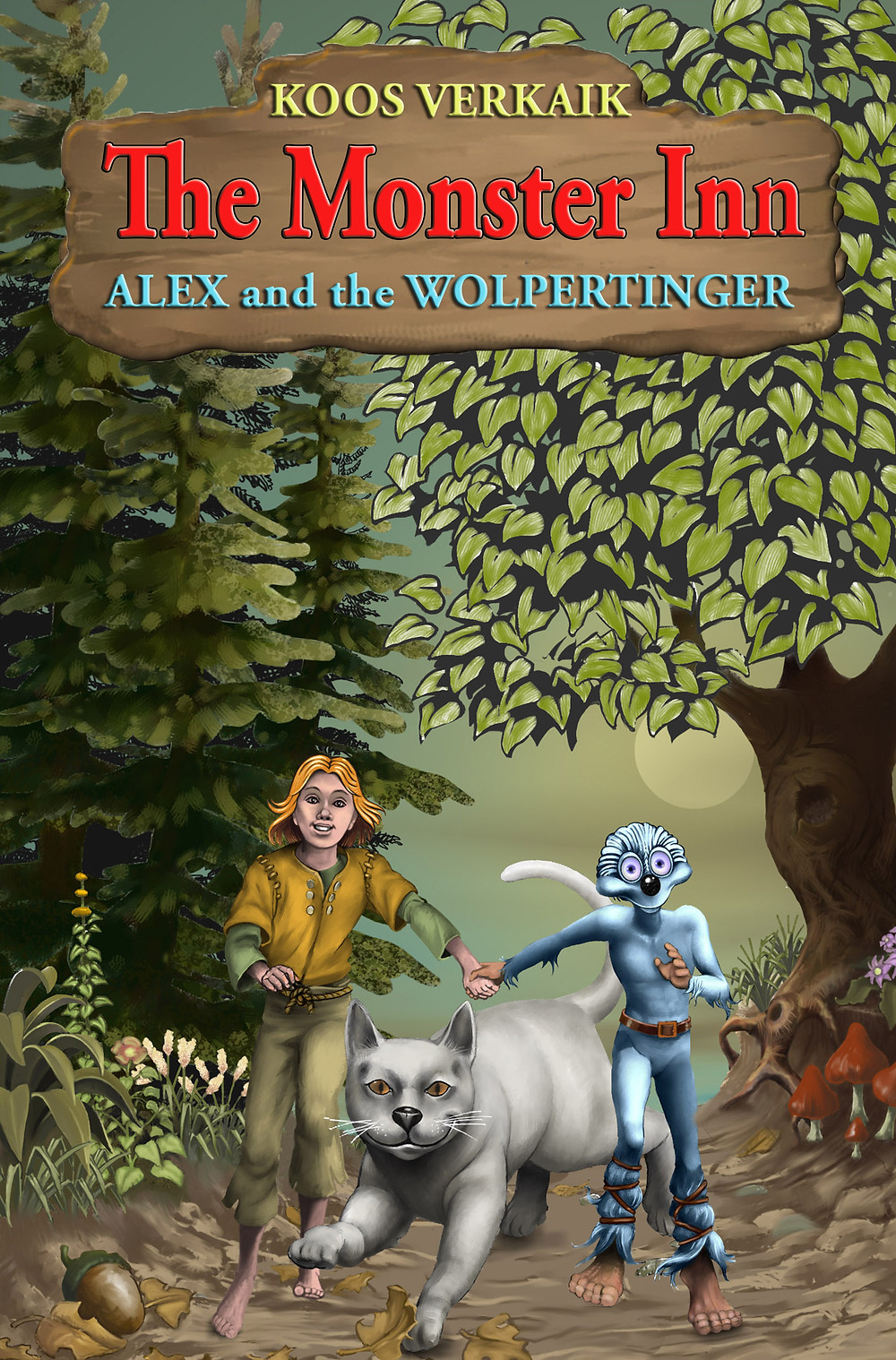 The Monster Inn, Alex and the Wolpertinger, Koos Verkaik, author interview, freelance book editor, affordable book editor, wattpad editor, ebook editor, affordable book editing services