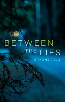 BETWEEN THE LIES, BRYONY LEAH