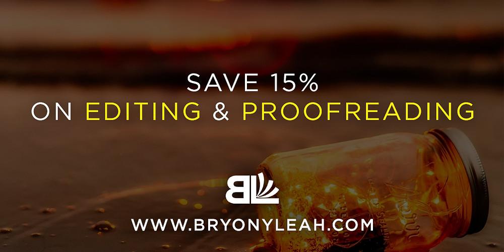 Bryony Leah, affordable book editor, editing discount, freelance editor, freelance proofreader, freelance copyeditor, romance editor, affordable editor, ebook editor, amazon editor, book editor, editing saving