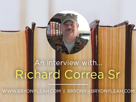 Author Interview: Richard Correa Sr