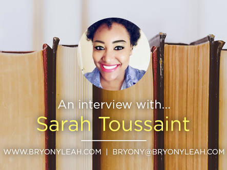 Author Interview: Sarah Toussaint