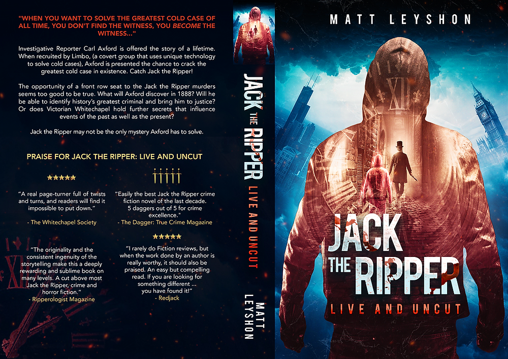 Jack the Ripper: Live and Uncut, Matt Leyshon, affordable book editor, author interview, freelance book editor, affordable book editing services
