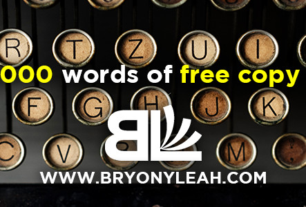 Win 50,000 words of free copy editing for your novel!