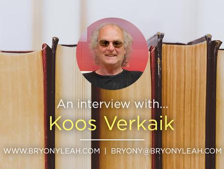 Author Interview: Koos Verkaik