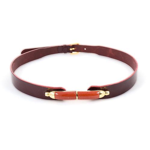 The bullet belt Jasper red