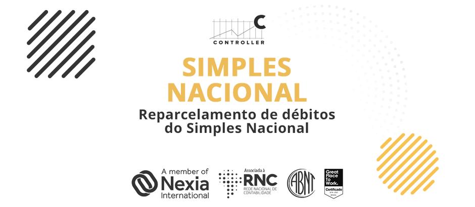 Simples Nacional - Reparcelamento de débitos do Simples Nacional - 03/11/2020