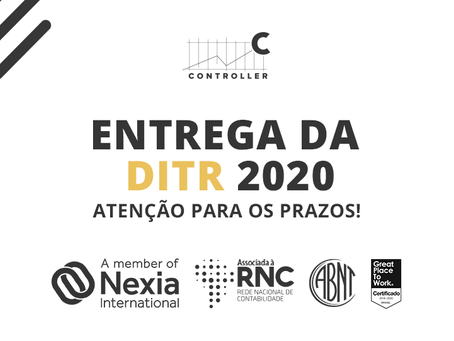 ENTREGA DA DITR 2020