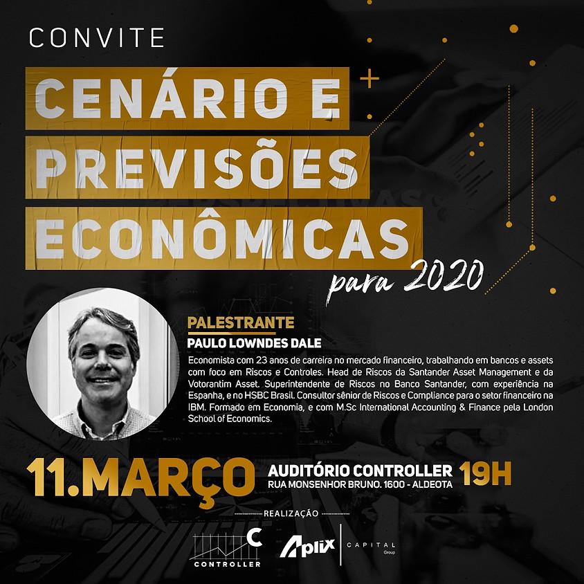 Cenários e Previsões Econômicas para 2020