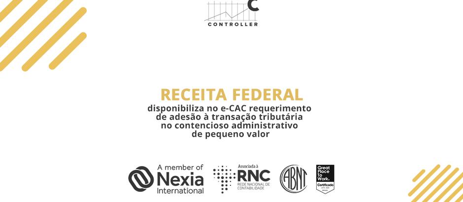 Receita Federal disponibiliza no e-CAC