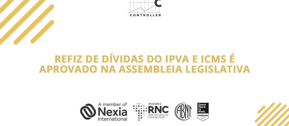 Refis de dívidas do IPVA e ICMS é aprovado na Assembleia Legislativa