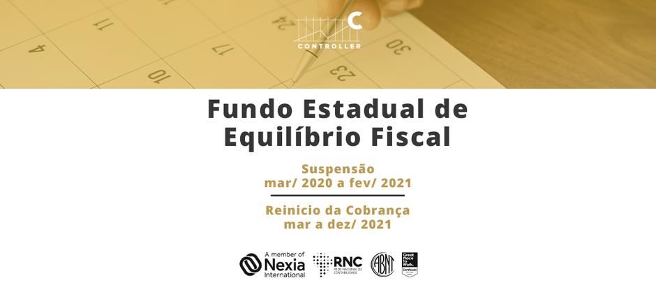 O FUNDO ESTADUAL DE EQUILÍBRIO FISCAL - FEEF INTERAÇÃO FISCO-CONTRIBUINTE DO ICMS
