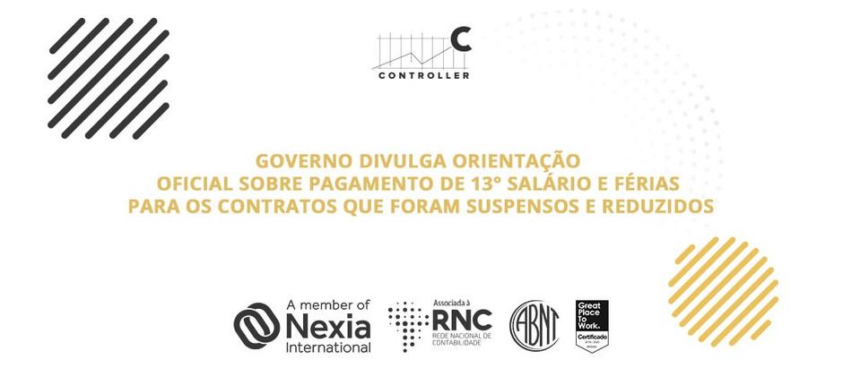 Novas orientações sobre os contratos suspensos/reduzidos