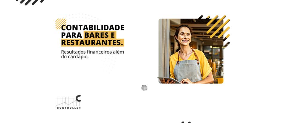 Contabilidade para Bares e Restaurantes.